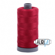 Aurifil 28 Cotton Thread - 2260  (Redwork Red)